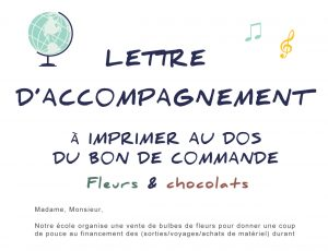 lettre accompagnement projet